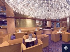 Begin your evening with a touch of sparkle! Sip on a pre-dinner drink in  glamorous Buddha Bar.