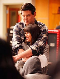 Glee, Finn & Rachel.
