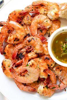 Grilled Shrimp Scampi | Striped Spatula