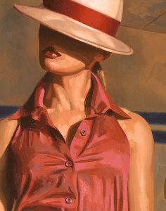 detail of WHO WAS THE GIRL? by Peregrine Heathcote