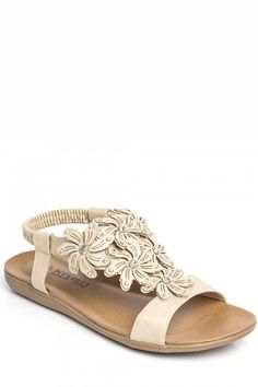 Needthatstyle - Nude Diamante Flower Sandal, £15.00 (http://www.needthatstyle.com/nude-diamante-flower-sandal/)