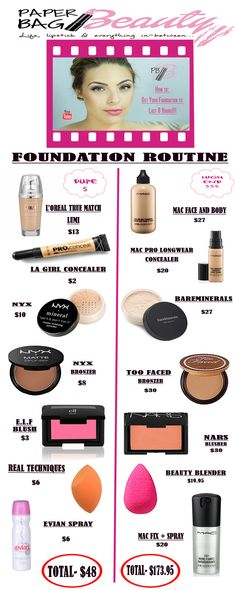 8 Hour Flawless Foundation Product Recommendation
