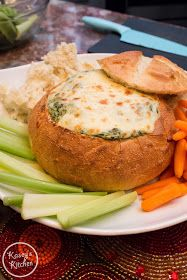 Kasey's Kitchen: Simple Spinach and Artichoke Dip [Video!]
