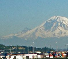 Magnificent Mt. Rainier
