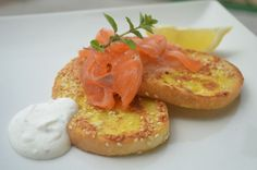 Fotorecept: Sezamové chlebíky s lososom