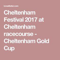 Cheltenham Festival 2017 at Cheltenham racecourse - Cheltenham Gold Cup