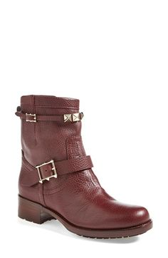 Valentino 'Rouge Absolute' Moto Boot at #Nordstrom