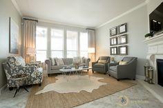 Amanda Carol Interiors | Client Living Room Before and After | http://amandacarolinteriors.com