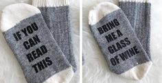 Kick back & put your feet up & let the socks do the talking!!