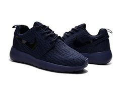check out c568b f8e23 NIKE Roshe One x Yeezy 350 Boost Men Classic Navy