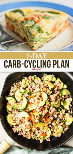 If you've been searching for a new diet, this carb-cycling plan may be the best option for you! You can enjoy tasty foods while losing weight! Clean Eating Recipes For Dinner, Clean Eating Meal Plan, Dinner Recipes, Healthy Eating, Healthy Food, Carb Cycling, Fat Burning Foods, Weight Loss Meal Plan, Eating Habits