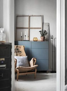 A beautiful Swedish space with warm natural textures