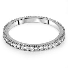 SORENTO Micro Set Brilliant Cut Full Eternity Rings from Hatton Jewels