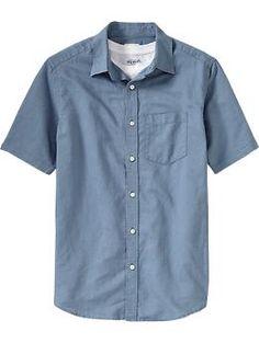 Men's Linen-Blend Shirts | Old Navy