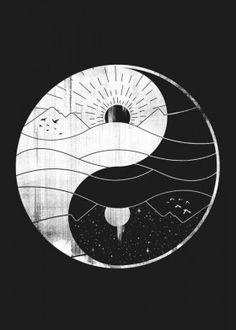 yin yang, diagrama yin yang