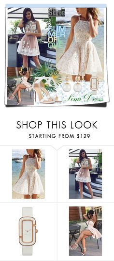 """""""Live Your Life /Simi Dress 6"""" by lightstyle ❤ liked on Polyvore featuring Marc by Marc Jacobs and Alexandre Birman"""