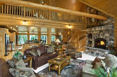 Genial Log Cabin Homes From Golden Eagle Log And Timber Homes, An Extensive  Collection Of Home Plans Or Custom Designed Log Home For You.