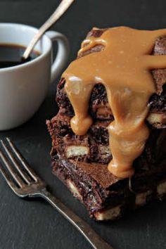 Twix Brownies   My B