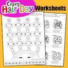 Fun+math+and+literacy+activities+to+go+along+with+Crazy+Hair+Day,+Dr.+Seuss+Week+and+Spirit+Week. 10+frame+counting Hair+graph Dice+Addition+game P...