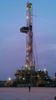 Oklahoma Oil drilling RIG