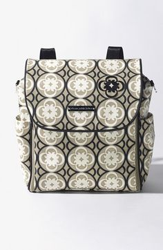 This baby diaper bag is on Sale at Nordstroms right now for $89!!  LOVE IT too!! Petunia Pickle Bottom 'Boxy Glazed' Backpack Diaper Bag available at #Nordstrom