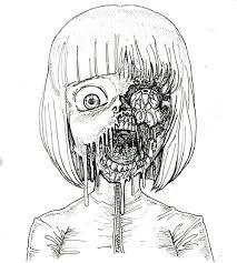 Картинки по запросу зомби девушки арт