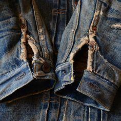 Duke & Sons Leather inspiration........denim repairs