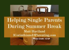 Practical ways to help a single parent during the summer