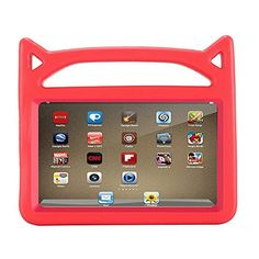 Hongfei Cute EVA Foam Safe Kids DropProof ShockProof Case Children Handle Tough Cover with Hidden Stand for Amazon Kindle Fire 7 2017 7th Gen #Hongfei #Cute #Foam #Safe #Kids #DropProof #ShockProof #Case #Children #Handle #Tough #Cover #with #Hidden #Stand #Amazon #Kindle #Fire