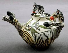 Image result for zebra teapot