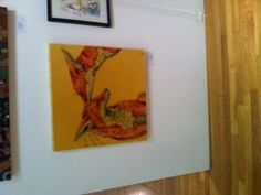 This painting was sooo cute!     Affordable Art Fair @ The Metropolitan Pavilion
