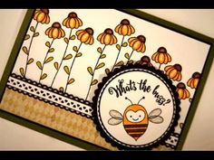 What's the Buzz? - YouTube Stamp Tv, One Sheet Wonder, Butterfly Cards, Card Tutorials, Card Sketches, Scrapbook Supplies, Get Well, Cardmaking, Greeting Cards