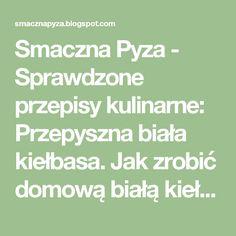 Smaczna Pyza: Kawior żydowski - pasta w wątróbki Brunch Recipes, Food And Drink, Math Equations, Cooking, Blog, Kitchen, Blogging, Brewing, Cuisine