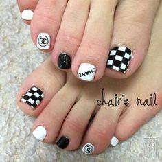 Pretty Toe Nails, Cute Toe Nails, Toe Nail Art, My Nails, Nails Only, Feet Nails, Best Acrylic Nails, Toe Nail Designs, Holiday Nails