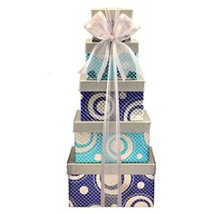 Broadway Basketeers Gourmet Celebration Gift Tower with Gourmet Popcorn Cookies  Assorted Sweets >>> Visit the image link more details. Note:It is affiliate link to Amazon.