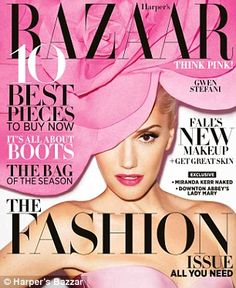 Gwen Stefani for Harper's Bazaar, Sept 2012