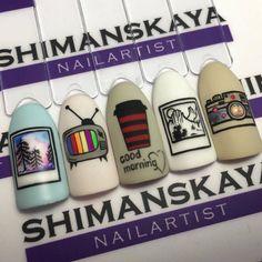 Ideas for hair drawing tutorial natural Classy Nails, Simple Nails, Cute Nails, Pretty Nails, Nail Swag, French Nails, Hair And Nails, My Nails, Nails For Kids