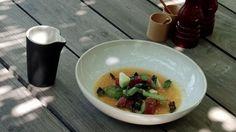 Passato, salade et eau de tomates d'Armand Arnal