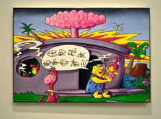 Kenny Scharf Barberadise Exhibition: With an accessible aesthetic due to its strong pop-culture undertones, Kenny Scharf opens his Sculpture Art, Sculptures, James Rosenquist, Kenny Scharf, Claes Oldenburg, Come & Get It, Jasper Johns, Roy Lichtenstein, Andy Warhol