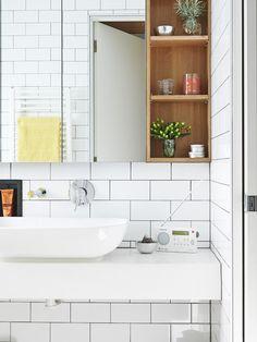 Www Froghilldesigns Net Bathroom White Subway Tile In