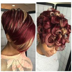 A well styled curly pixie cut is one of cutest haircuts around. Pixie hairstyles blew up around the time Twiggy, iconic model of the sixties, chopped off her hair. Curly Pixie Cuts, Short Hair Cuts, Curled Pixie, Weave Hairstyles, Girl Hairstyles, Black Hairstyles, Children Hairstyles, Trendy Hairstyles, Hairstyles Pictures