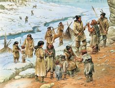 Neanderthal and modern humans, Homo sapiens lived alongside one another for 10,000 to 15,000 years. Prehistoric Period, Prehistoric Man, Prehistoric Animals, Cro Magnon, Early Humans, Human Evolution, Stone Age, Ancient Civilizations, Ancient History