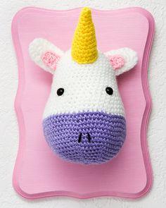 Un trofeo de caza especial: un Unicornio...de lana!!
