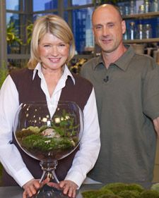 Gardening with Moss.... Al Benner demonstrates how to properly plant moss for a beautiful garden.... The Martha Stewart Show, April 2010.