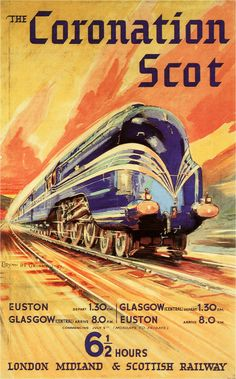 The Coronation Scot - LM&SR. #posters