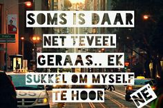 Myself te hoor Afrikaanse Quotes, Hoe, Tart, Wisdom, My Love, Words, Pie, Tarts, Torte