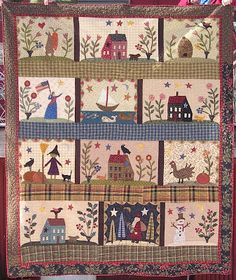 Jan Patek Quilts: Search results for over the meadow