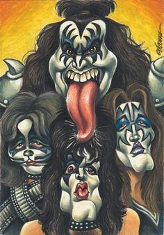 RockToons   Kiss   Rocktoons