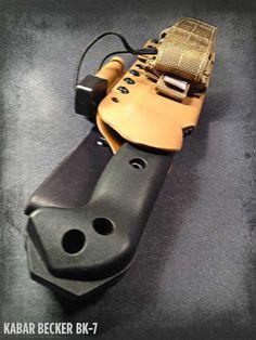 Apocalypse Gear - Becker BK-7 Kydex Survival Sheath