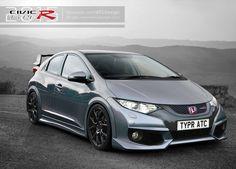 2015 Honda Civic Type R by ATC-Design.deviantart.com on @deviantART